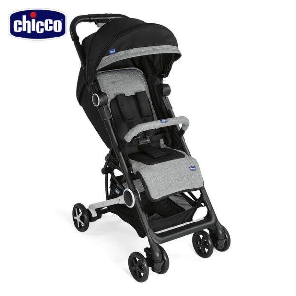 【好禮買就送】chicco-Miinimo2輕量摺疊手推車-爵色黑