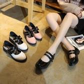 日系可愛娃娃鞋lolita洛麗塔軟妹鞋低跟jk制服小皮鞋圓頭lo少女 黛尼時尚精品