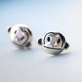 耳環 925純銀-甜美猴子生日情人節禮物女飾品73gk174【時尚巴黎】