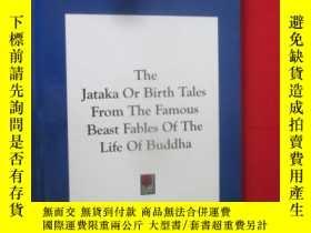 二手書博民逛書店The罕見Jataka or Birth Tales from