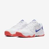Nike 網球鞋 Court Lite 2 白 藍 男鞋 基本款 運動鞋 【PUMP306】 AR8836-103
