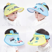 防曬帽兒童防曬帽大帽檐遮陽寶寶帽子夏季薄款男童女童太陽帽空頂可調節618購