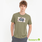 短袖印花Tee - 06軍綠色-bossini男裝