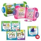 【經典小資組】美國 LeapFrog 跳跳蛙 LeapStart Sr. 全英幼童行動學習機-新版(白/粉)+5本學習書