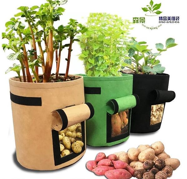 種植袋 番薯土豆種植袋grow bag植物袋美植袋植樹袋植物生長袋Potato pot