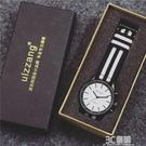 手錶男學生韓版簡約復古歐美時尚潮流ulzzang休閑個性創意帆布帶 3C優購