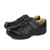 Yiu San 休閒皮鞋 黑色 魔鬼氈 男鞋 18110290 no325