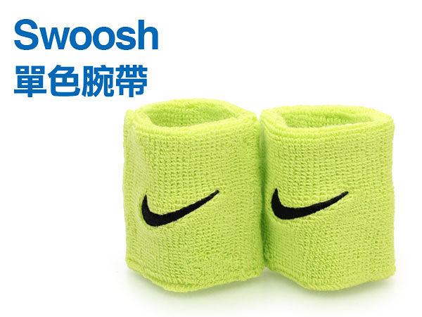 NIKE Swoosh 運動腕帶(籃球 網球 羽球 一雙入