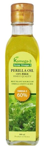 林博~母心紫蘇油(Komega-3 )180ml/罐 ×2罐~特惠中~