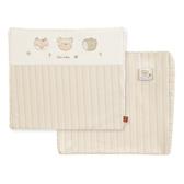 【奇哥】有機棉乳膠斜背枕-附布套(35x30x7.5cm)