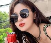 墨鏡女韓版潮新款防紫外線太陽眼鏡時尚街拍圓臉偏光Mandyc