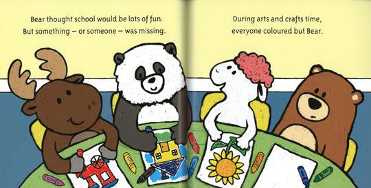 BEAR'S BIG DAY/英文繪本《主題:自我認同. 友誼. 長大》