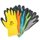 3M 舒適型 止滑/耐磨手套 藍色...