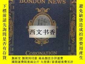 二手書博民逛書店罕見,稀缺本罕見《倫敦新聞畫報,喬治六世王后和伊麗莎白女王》 彩