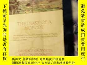 二手書博民逛書店THE罕見DIARY OF A NOBODY(小人物日記)Y26