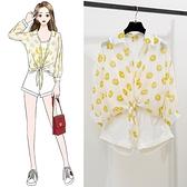 夏季2020新款小清新套裝女顯瘦牛仔短褲防曬衣洋氣減齡甜美兩件套 時尚芭莎鞋櫃