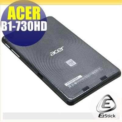 【EZstick】ACER Iconia One 7 B1-730HD 系列專用 二代透氣機身保護貼(平板機身背貼)DIY 包膜