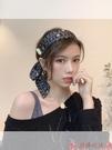 髮箍法式復古飄帶發箍女百搭網紅氣質甜美外出發帶韓國超仙女壓發頭箍 芊墨左岸