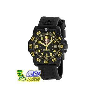 [美國直購 ShopUSA] 手錶 Luminox EVO Navy Seal Black Dial Black Polyurethane Strap Unisex Watch SU7055 $7925