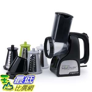 [9美國直購] 電動切菜切片機 Presto 02970 Salad Shooter, 1 Size, Black