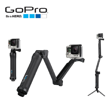 GoPro AFAEM-001 三合一多功能固定支架 3 Way (59) 【公司貨】適用 HERO8 HERO7 HERO6 HERO5