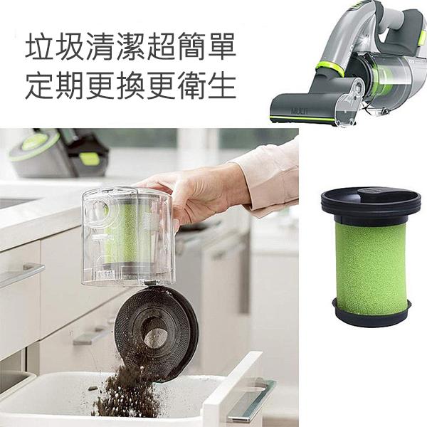 【刀鋒】英國小綠除螨手持吸塵器專用濾心 2代專用 副廠 現貨 快速出貨 塵盒濾網 吸塵器耗材
