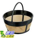 [美國直購] Hamilton Beach 咖啡機 濾網 80675 Permanent Gold Tone Filter 8-12杯咖啡機適用
