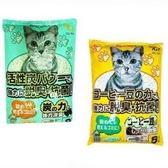 【 ZOO寵物樂園 】 日本環保貓砂(吸臭活性碳)8L (2種味道)