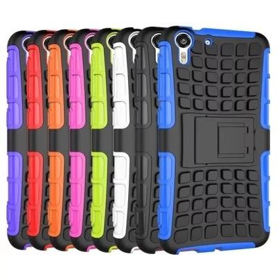 【SZ】HTC EYE 二合一支架 輪胎紋蜘蛛紋矽膠底 Desire 610 HTC Desire 620手機殼 626手機殼