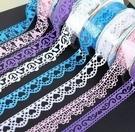 ►DIY蕾絲膠帶 手工裝飾膠帶 相冊配件 韓國款 中號【C1006】