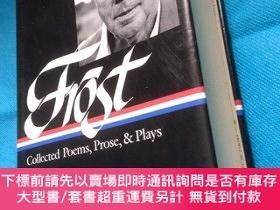 二手書博民逛書店Robert罕見Frost: Collected Poems, Prose & Plays(The Library