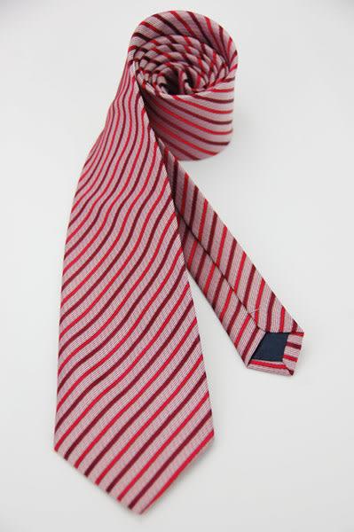 【Alpaca】紅色斜紋領帶