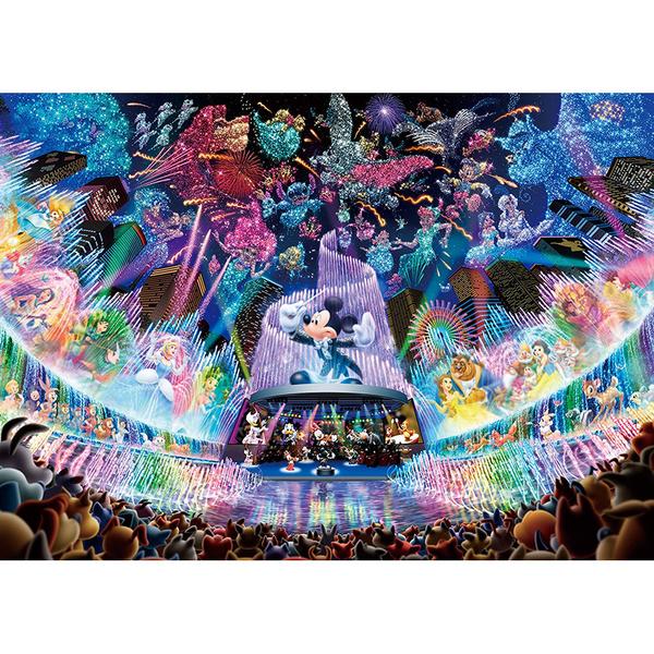 Tenyo拼圖 2000發光片 迪士尼水上夢幻音樂會_BF94604