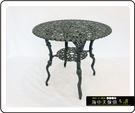 {{ 海中天休閒傢俱廣場 }} G-52 戶外時尚 鋁合金桌椅系列 12-7 80cm菊花圓桌