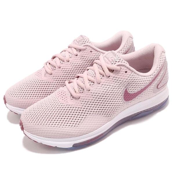 Nike 慢跑鞋 Wmns Zoom All Out Low 2 二代 粉紅 白 全氣墊 女鞋 運動鞋【PUMP306】 AJ0036-602