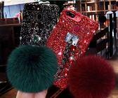 oppor11s手機殼女款毛球個性創意oppo r11保護套潮日韓國r11plus       非凡小鋪