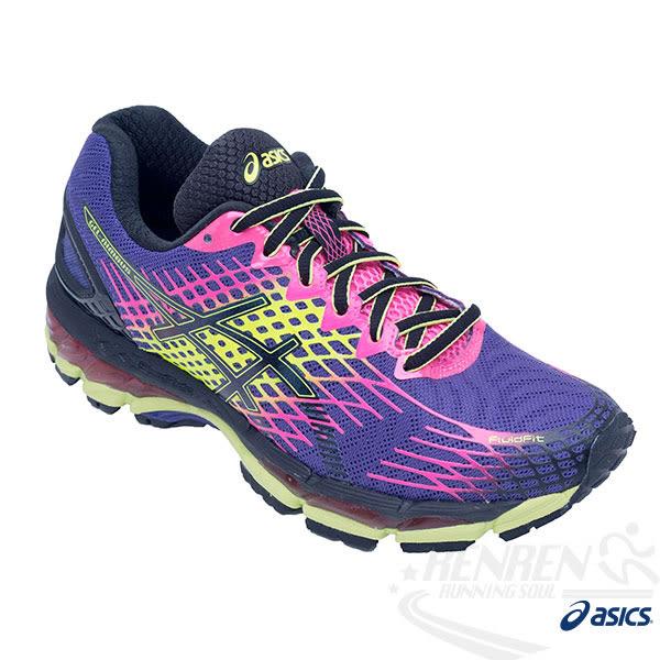 ASICS亞瑟士 女慢跑鞋 GEL-NIMBUS 17 (紫) 超高緩衝
