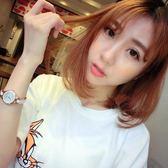可愛時尚氣質防水女士手錶女高中學生韓版簡約潮流ulzzang     初語生活