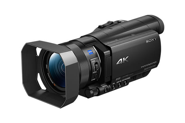 SONY FDR-AX100 1吋感光 4K 超高畫質攝影機 12倍光學 蔡司鏡頭 【 台灣索尼公司貨】