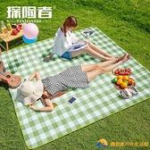 野餐墊防潮戶外地墊便攜防水郊游野餐布【勇敢者戶外】