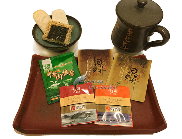 ~ 2款日月潭紅茶+洛神茶+肉桂茶+烏龍茶~~暢銷口味綜合茶包嚐鮮組