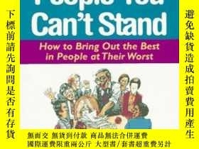 二手書博民逛書店Dealing罕見With People You Can t S
