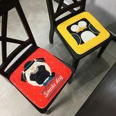 加厚卡通坐墊 辦公室餐椅墊沙發吊椅墊電競轉椅子凳子汽車坐墊
