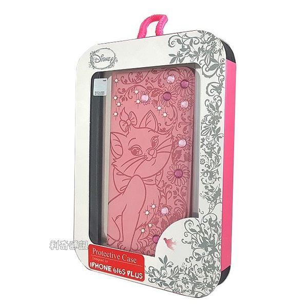 迪士尼貼鑽皮套 [瑪莉貓] iPhone 7 / iPhone 8 (4.7吋)【正版授權】