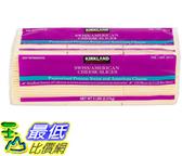 [COSCO代購] W50021 科克蘭美製瑞士風味乾酪片 2.27KG (32入裝)