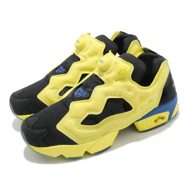 Reebok X Awake NY Instapump Fury OG 黃 黑 藍 聯名款 男鞋【ACS】 FW7488