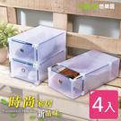 【YOLE悠樂居】組合式收納鞋盒-一般(...