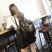 後背包-真皮-方格壓紋休閒牛皮女雙肩包73yi13【巴黎精品】