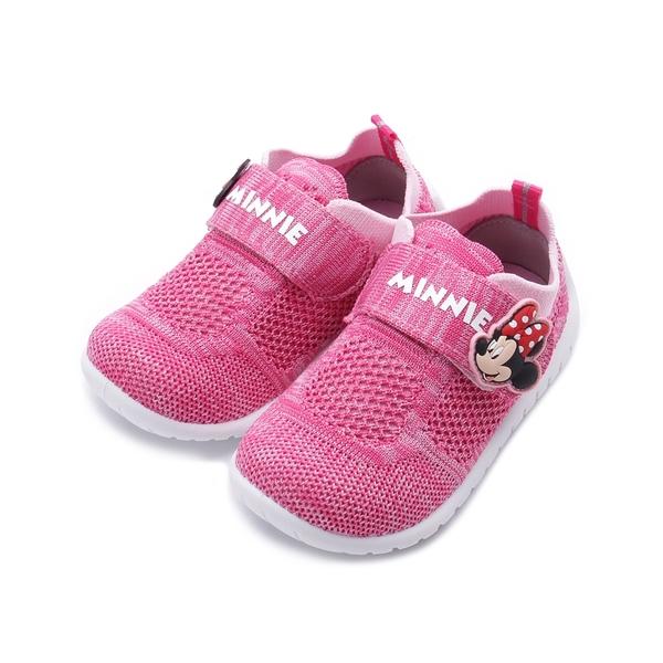 DISNEY 米妮透氣網布休閒鞋 紅 118853 中小童鞋 鞋全家福