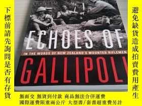 二手書博民逛書店Echoes罕見of Gallipoli 加里波利的回聲Y211